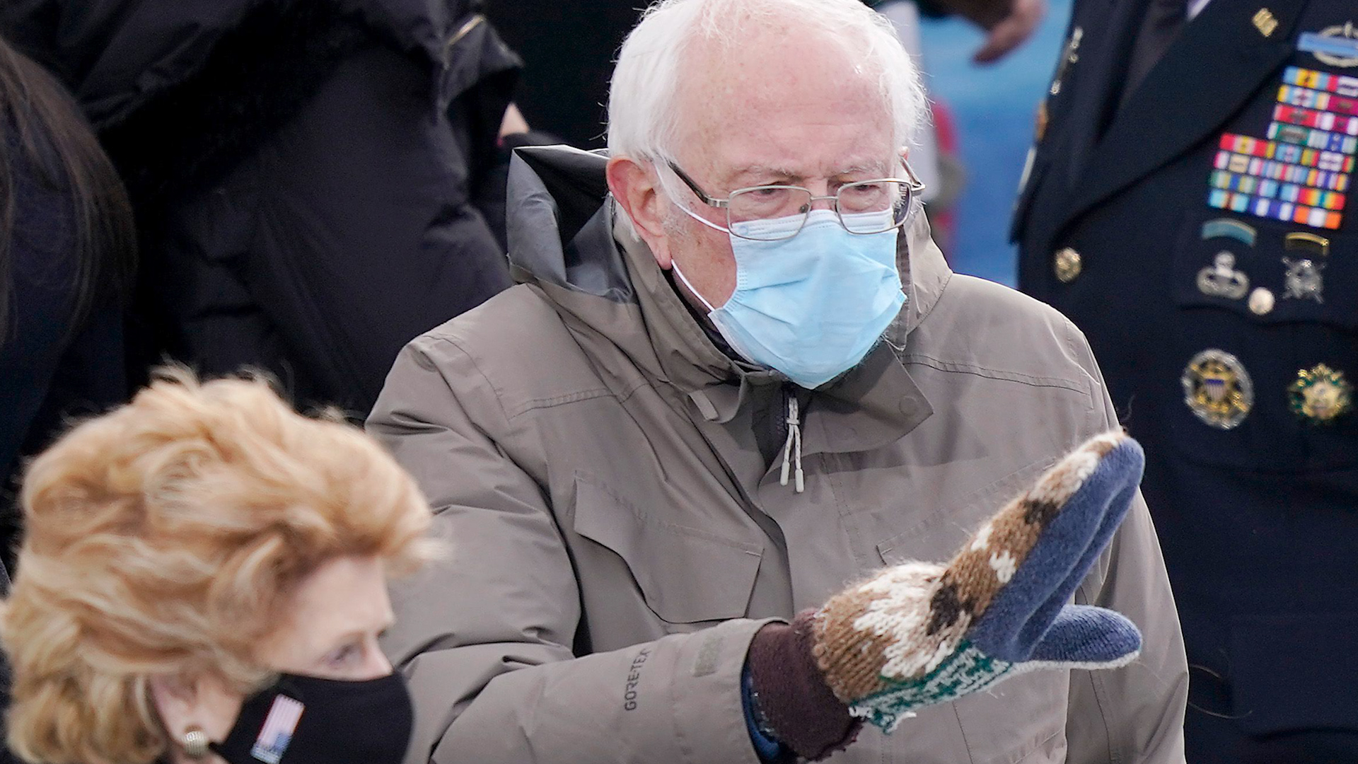 Bernie Sanders And His Bulky Vermont Made Mittens Won The Internet On Inauguration Day The Boston Globe We all need a good laugh these days, so why no make your own bernie mittens meme? bernie sanders and his bulky vermont