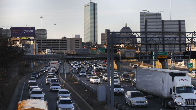 Traffic congestion has reached a 'tipping point' in Massachusetts