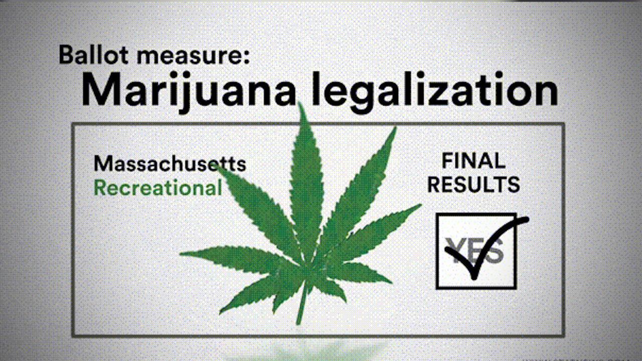Mass  voters say 'yes' to legalizing marijuana - The Boston