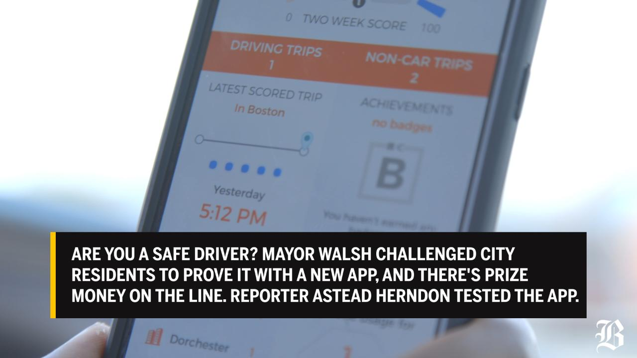 The Boston app that grades your driving - The Boston Globe