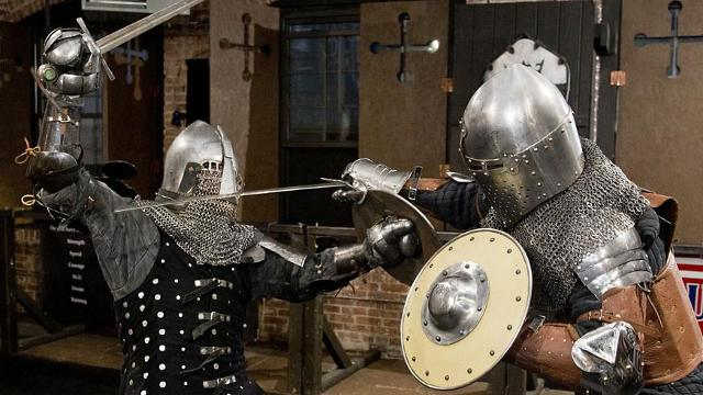 The first rule of knight club: Wear your armor - The Boston Globe